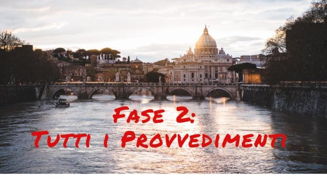 PROVVEDIMENTI FASE 2