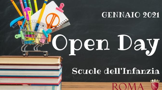 OPEN DAY SCUOLE DELL'INFANZIA CAPITOLINE DEL MUNICIPIO ROMA I CENTRO